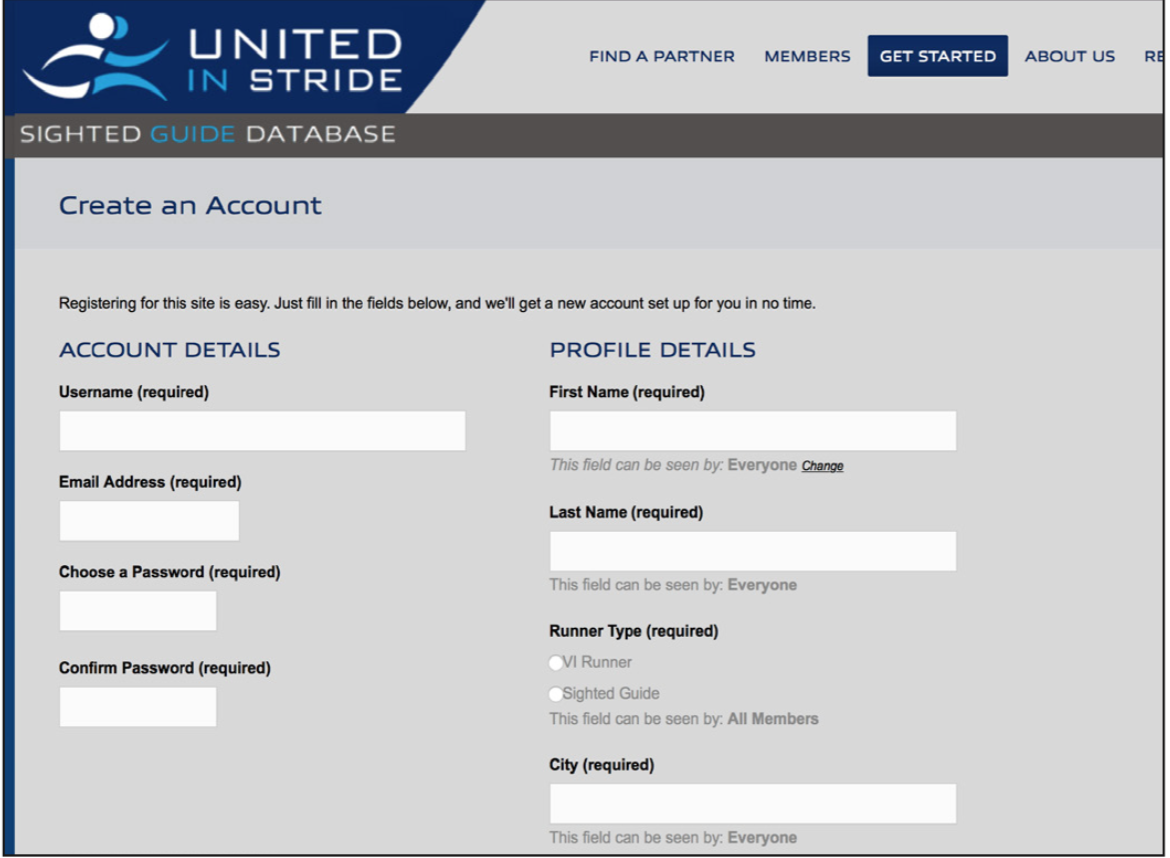 Create a username, password and user information, then click 'Complete Signup.'